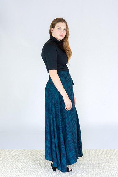 Tysa Wrap Skirt - Highland Green