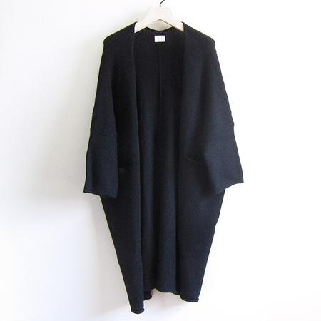 Fform Kimono Overcoat - Black