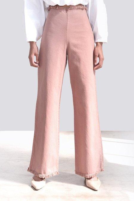 Shaina Mote Apollo Pant - Pink Adobe