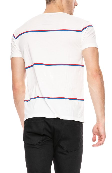 Thinking MU Double Lines T-Shirt - Double Stripe