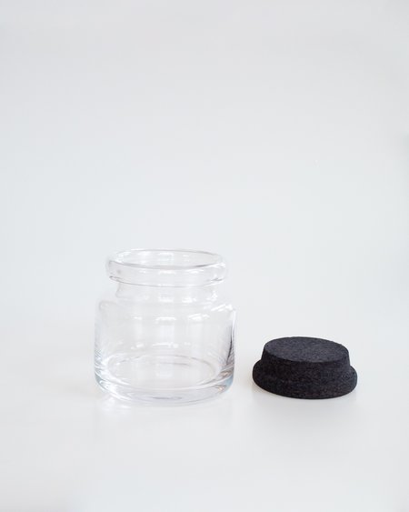 Louise Roe Verner Glass Container - Clear