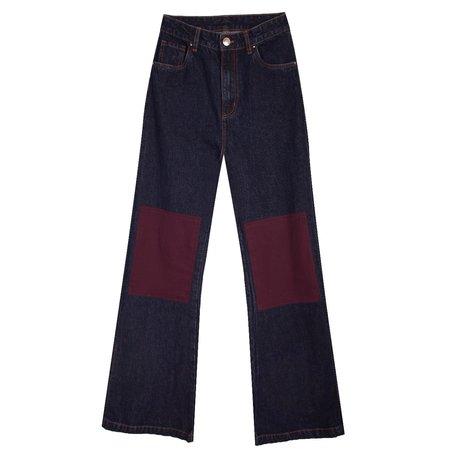 L.F.Markey Big Bell Jeans - Dark Wash