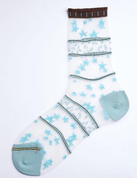 DèPio 604 Socks - Blue