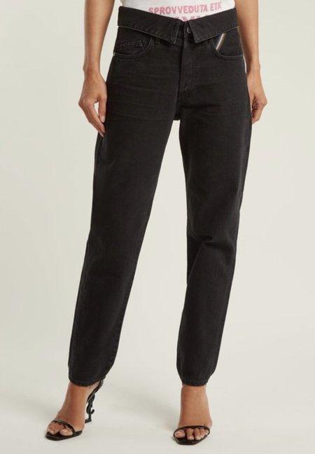Jean Atelier Flip Jeans - black