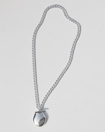 Knobbly Studio Garconne Locket - Silver