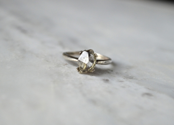 The C O A D Herkimer Diamond Ring