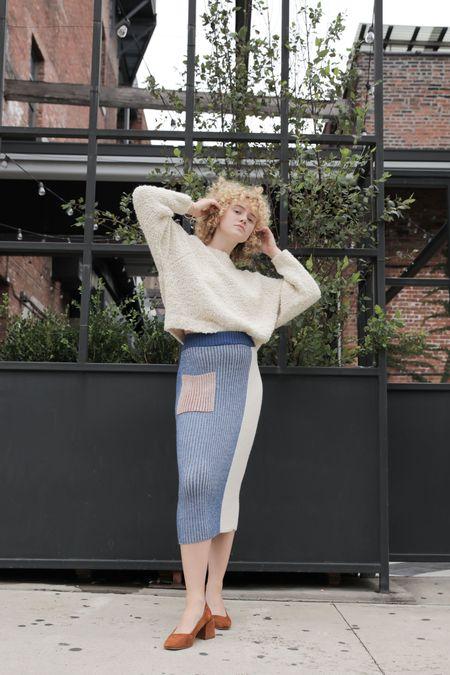 Kordal Etta Skirt - Azul/Clove
