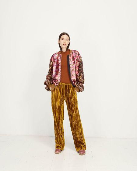 Stine Goya Clive Sequins Jacket - Hexagons Soft
