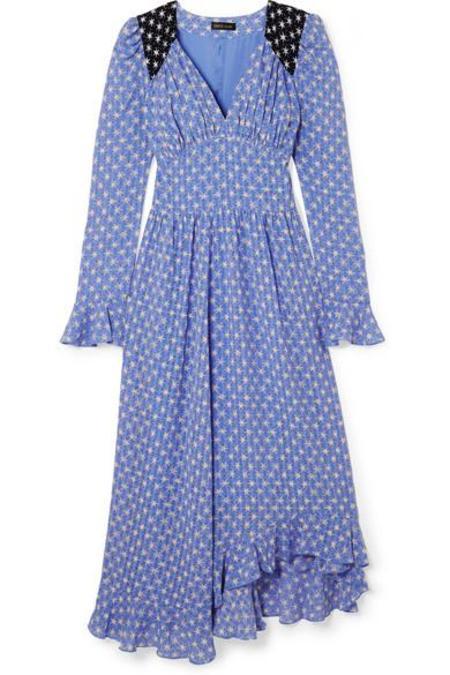 Stine Goya Freesia Dress - Diamonds Bluebell