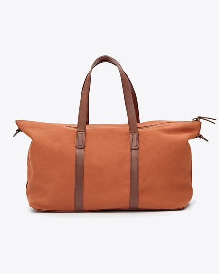 Nisolo Canvas Weekender - Amber