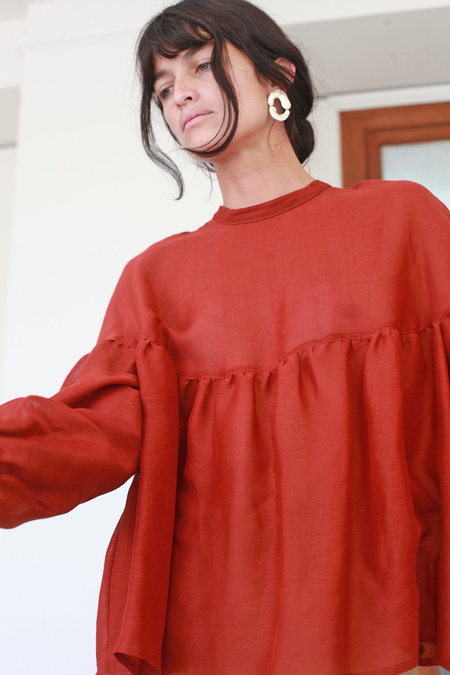 Town Clothes Salima Blouse - Amber