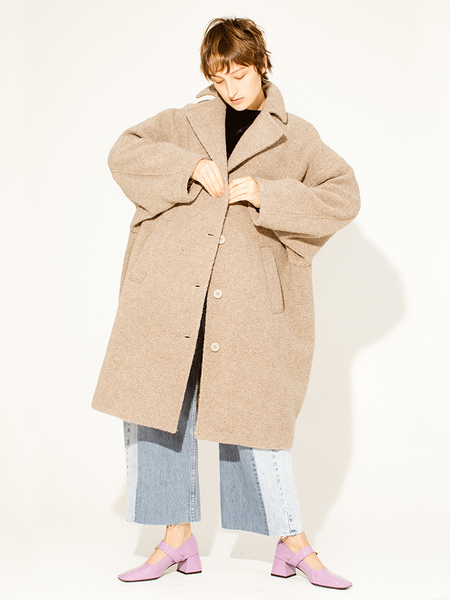 Maison Margiela MM6 Teddy Bear Overcoat