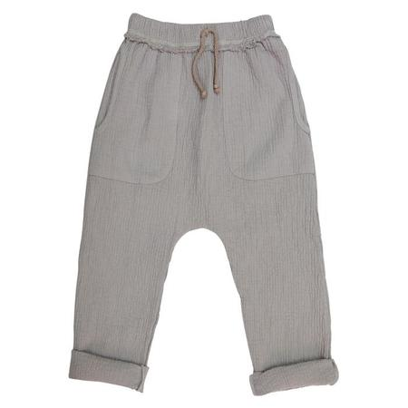 Kids Nico Nico Baby And Child Hall Quilted Harem Pants - Granite Grey
