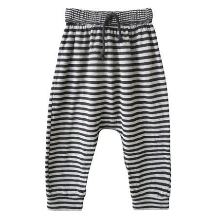 Kids Nico Nico Baby And Child Stone Harem Pants - Black Stripes