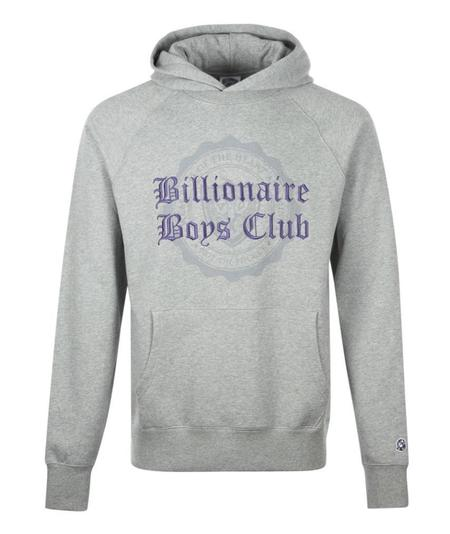 Billionaire Boys Club BBC College Popover Hood - Grey