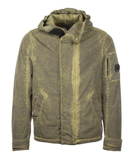 CP Company Colour Hooded Short Coat - Green