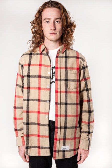 Wemoto Harris Plaid Shirt - SAND