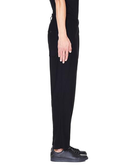 Yohji Yamamoto Wool Trousers - Black