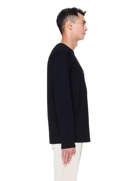 Yohji Yamamoto New Era Cotton Long Sleeve T-Shirt - Black