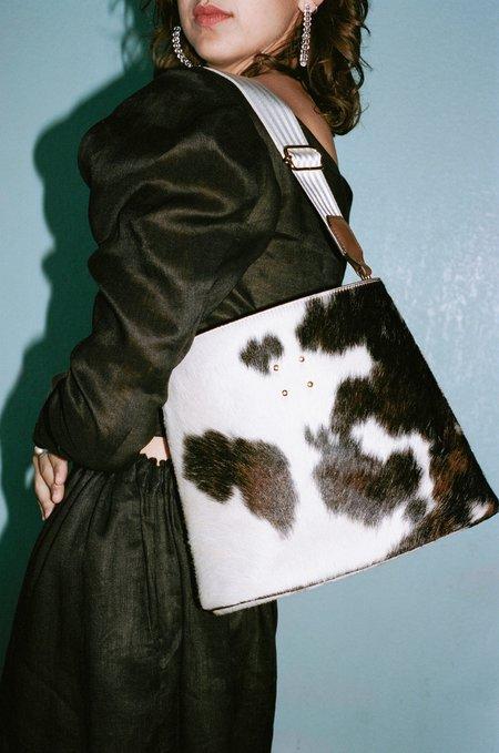 Trademark Calf Hair Sybil Bag - Natural
