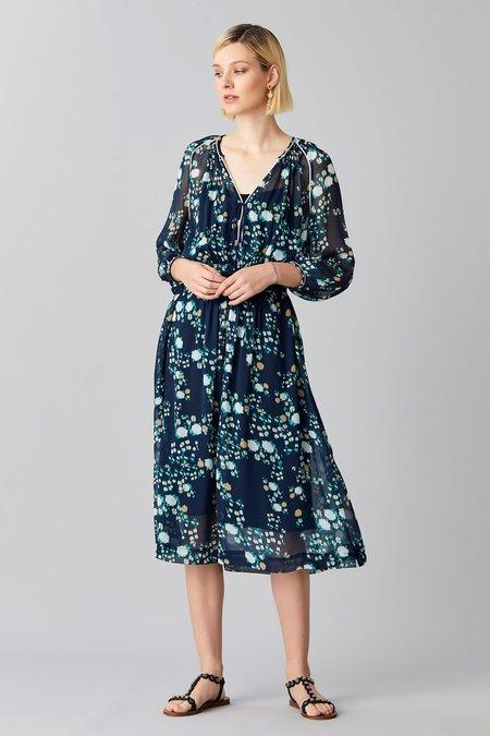 Megan Park Flora Gypsy Dress - Floral Print
