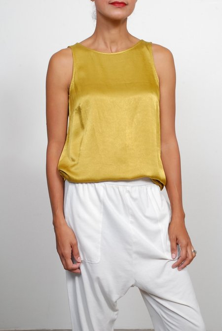 Raquel Allegra Open Back Top - Gold