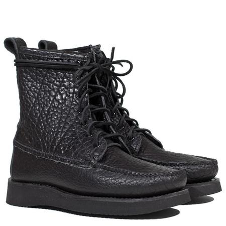 Maine Mountain Moccasin Bison Mohawk Trail Boot - Black