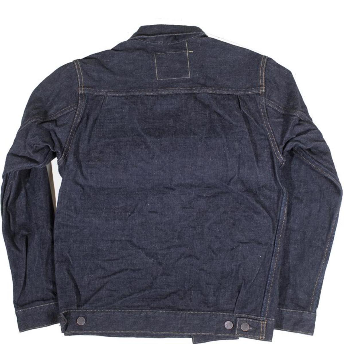 Tanuki Njkt2 Type Two Denim Jacket Natural Indigo