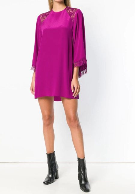 Iro Hunt Dress - Fuschia