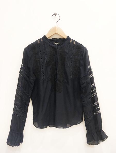 Love Sam Dandy craft Blouse - Black