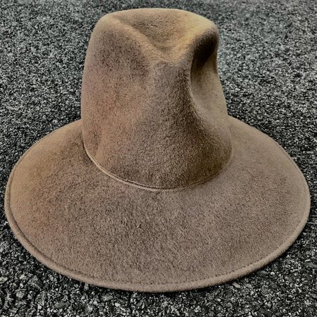 Esenshel TEAR MEDIUM CROWN CURVED BRIM HAT