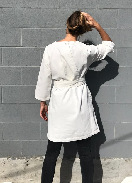 Kowtow Technique Dress - Ecru Denim
