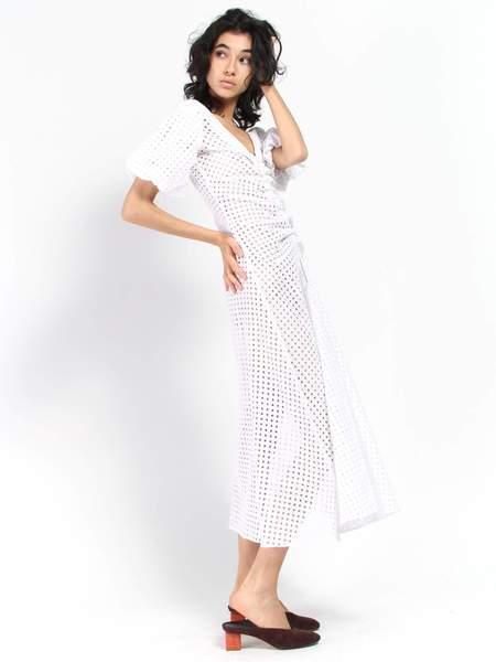 Paper London Sisi Dress - White