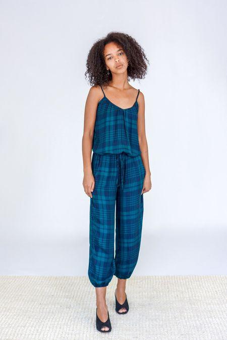 Tysa Claudette Jumpsuit - Highland Green