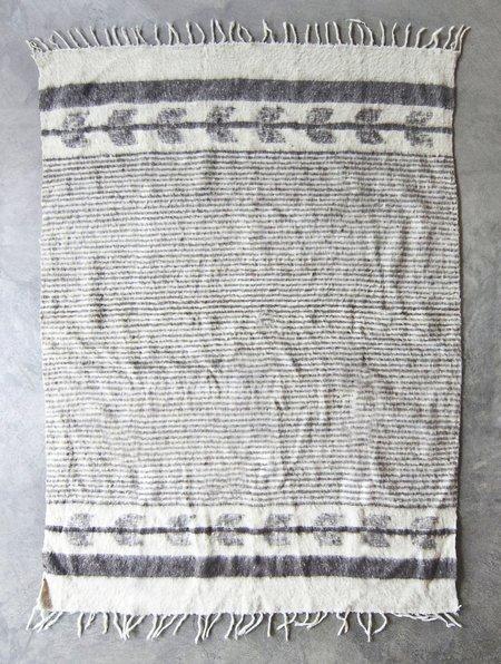 Valiente Goods Guatemalan Organic Wool Blanket - Grey