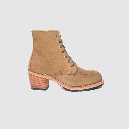 Red Wing Heritage Clara Boots - Olive Mohave