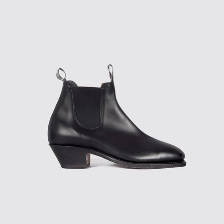 R.M. Williams Adelaide Cuban Heel - Black
