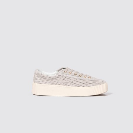 Tretorn Nylite Bold Suede Sneakers - Sand