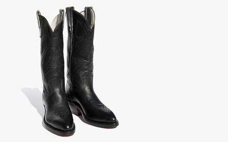 Kindred Black Stewart Boots 0124 Classic Cowboy Boot - Black