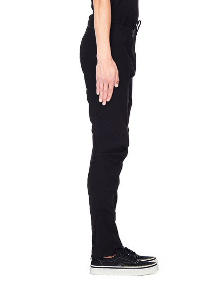 Leon Emanuel Blanck Cotton Trousers - Black