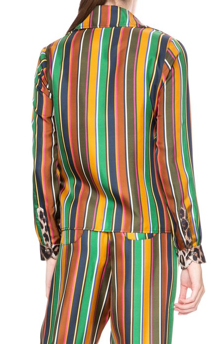 La Prestic Ouiston Twiggy Striped Top with Contrast Pockets - Bayadere
