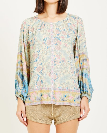 SPELL & THE GYPSY OASIS BLOUSE - OPAL