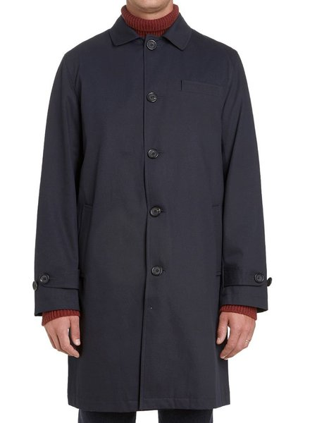 Oliver Spencer Beaumont Coat - Park Navy