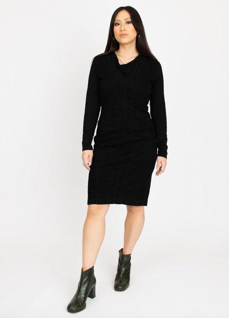 Prairie Underground  Body Contour Dress - Black