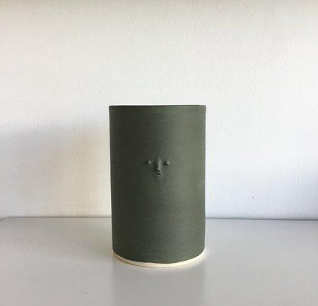 Rami Kim Mini Face Tumbler Vase - Mongol Green