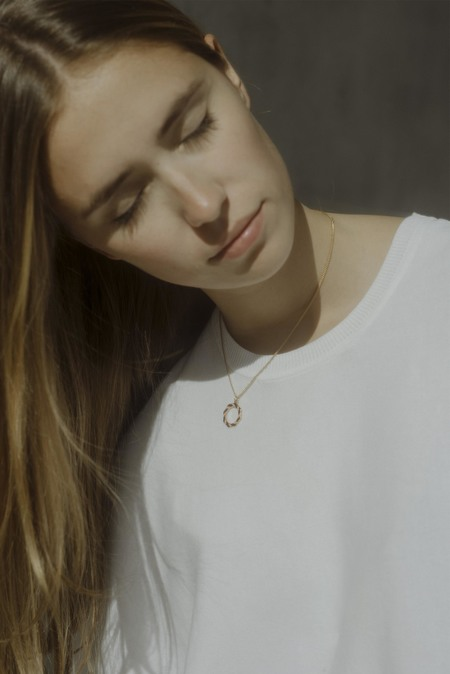 Anne Thomas Saint Malo Necklace - BRICK