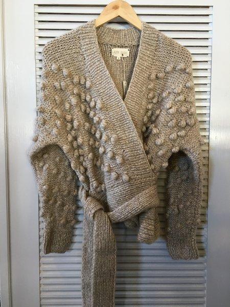 Laura Siegel Wrap Sweater