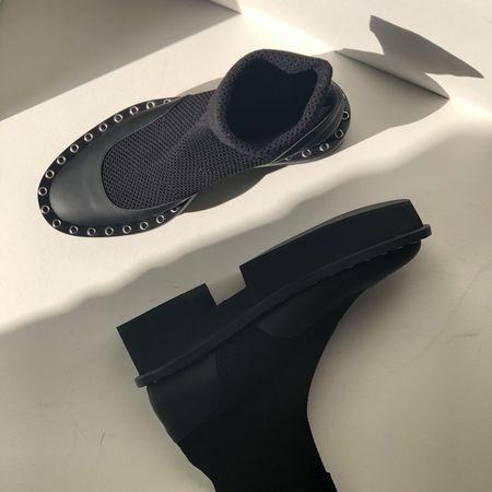 Clergerie Blind Sock Boots - Black