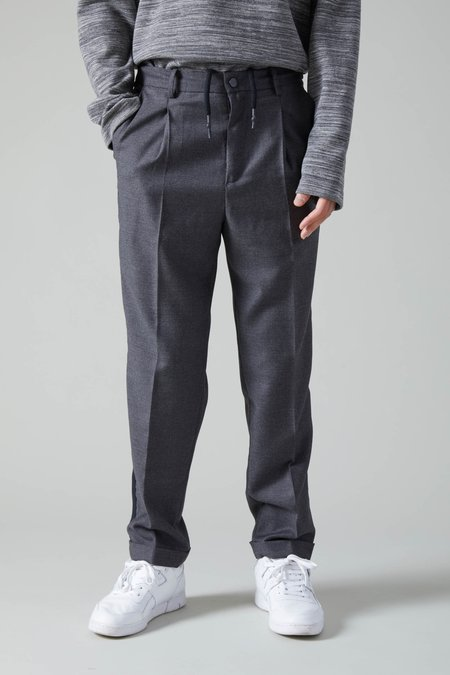 Presidents Angelico Trouser Wool Band - Grey