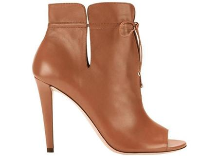 Jimmy Choo Memphis 100 Soft Leather Ankle Bootie - Canyon